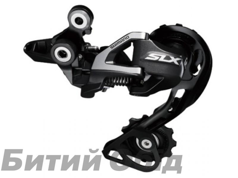 Переключатель задний Shimano SLX RD-M670 SGS, 10-скор, SHADOW, длинный рычаг
