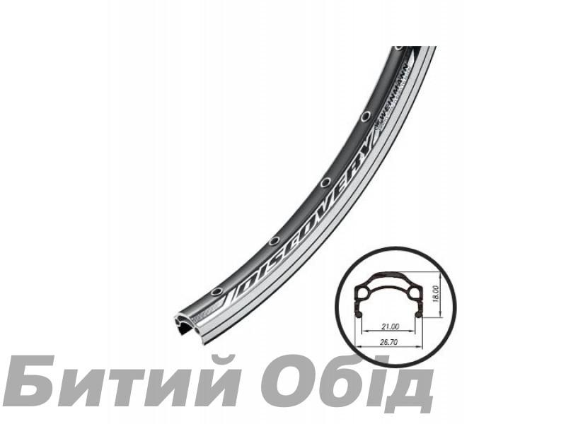 Обод Weinmann COBRA 36H черный с проточкой 28