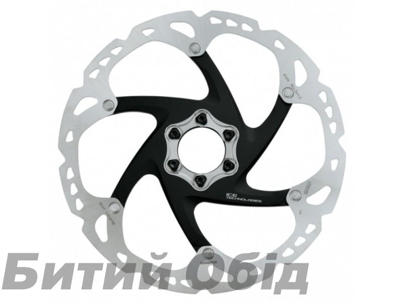 Ротор Shimano SM-RT86 L, ICE TECH, 203мм, монтаж 6 болтов фото, купить, киев, запорожье
