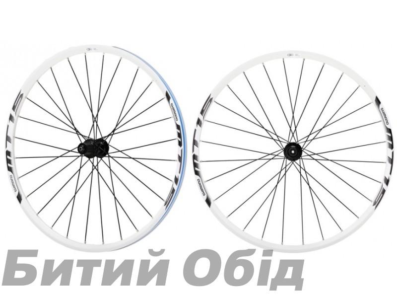 Колеса Shimano MTB WH-MT15-А 26 CENTER LOCK, белые