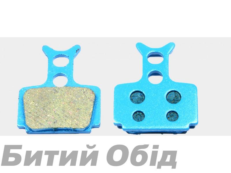 Тормозные колодки дисковые Sheng-An Formula Mego one/R/R1/RX (BP-048)