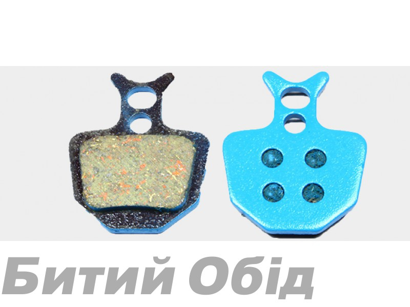 Тормозные колодки дисковые Sheng-An Formula ORO (BP-013)