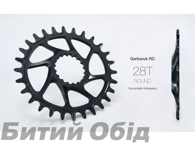 Звезда Garbaruk овал (MELON) Direct Mount Cannondale Hollowgram фото, купить, киев, запорожье
