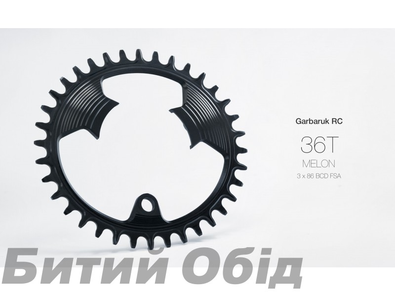 Звезда Garbaruk овал (Melon) 86 BCD (FSA 3 bolt) фото, купить, киев, запорожье