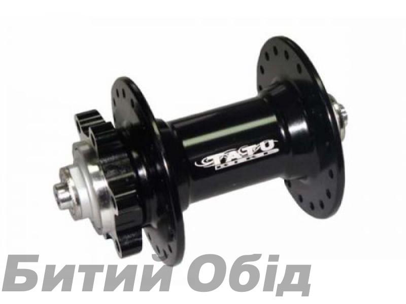 Втулка передняя TATU-BIKE диск 36H на 2 пром. подшипниках фото, купить, киев, запорожье