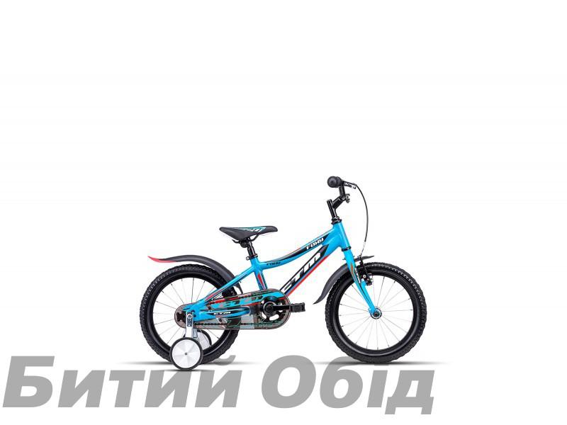 Детский велосипед CTM Foxy (matt blue/reflex orange) 2018 год