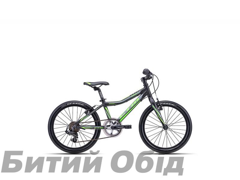 Детский велосипед CTM Jerry 3.0 (matt black/green) 2018 год фото, купить, киев, запорожье
