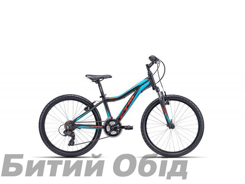Детский велосипед CTM Rocky 2.0 (matt black/blue) 2018 год фото, купить, киев, запорожье