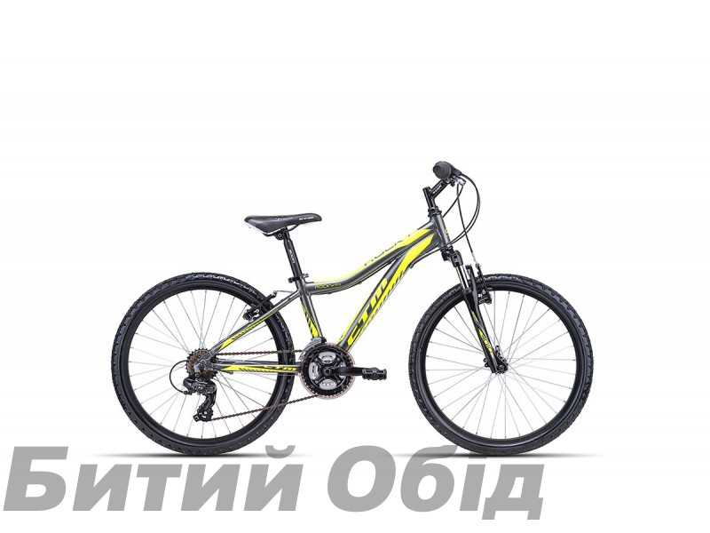 Детский велосипед CTM Rocky 2.0 (grey/reflex yellow) 2018 год фото, купить, киев, запорожье
