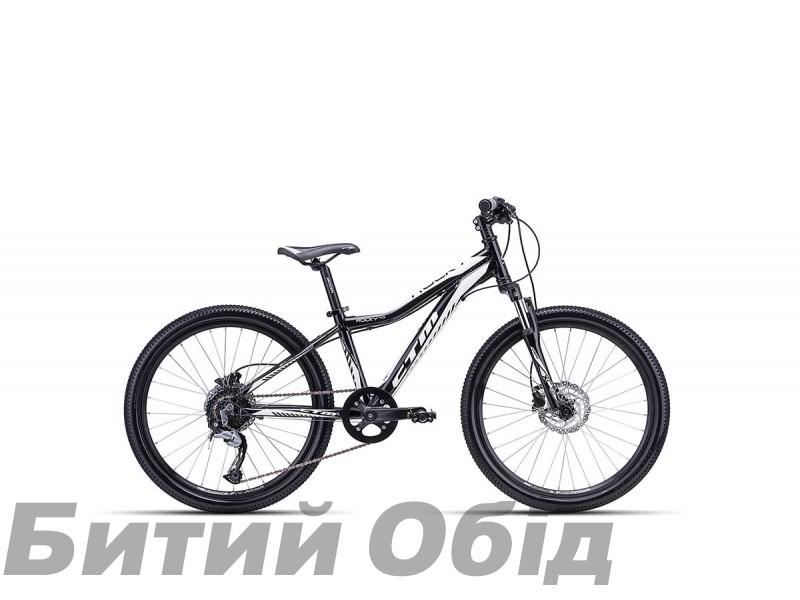 Детский велосипед CTM Rocky 4.0 (black/white) 2018 год фото, купить, киев, запорожье