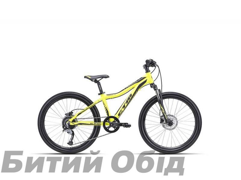 Детский велосипед CTM Rocky 4.0 (matt reflex yellow/black) 2018 год фото, купить, киев, запорожье