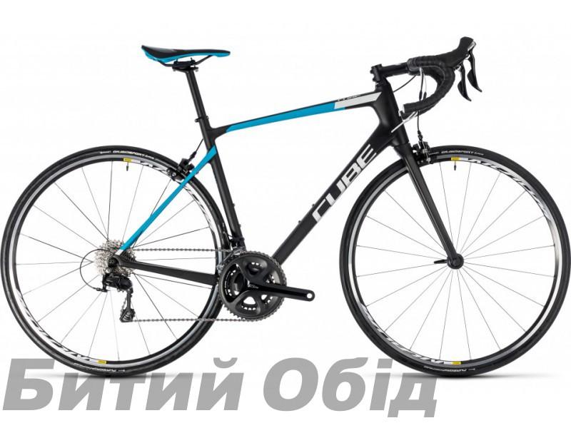 Велосипед Cube Attain GTC Pro (carbon´n´blue) 2018