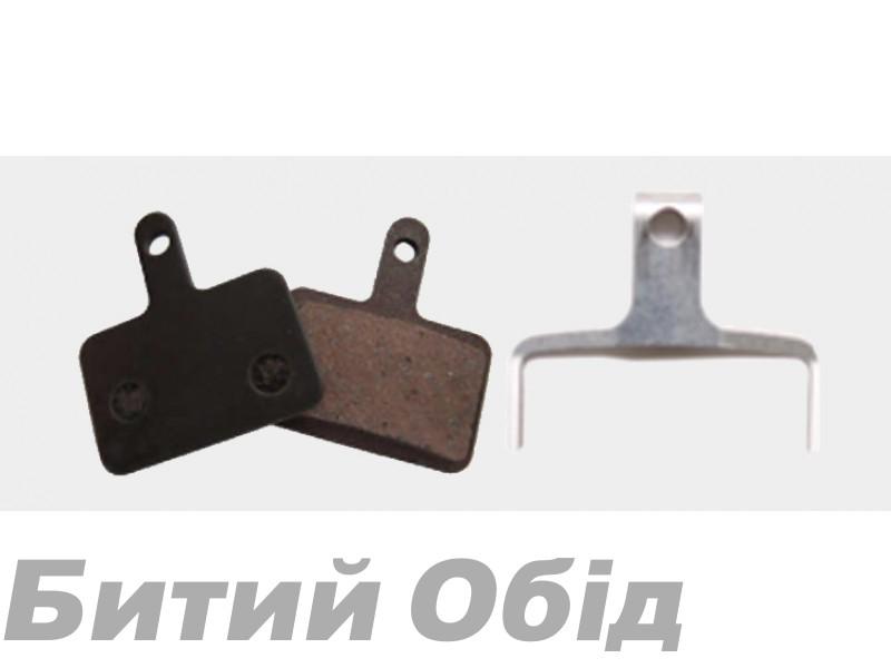 Тормозные колодки дисковые b10 Shimano Deore/Tektro (BPN-620) organic
