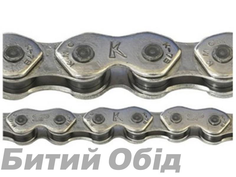 Цепь инд. 100 зв. 1/2x1/8 KMC K710 silver/silver фото, купить, киев, запорожье