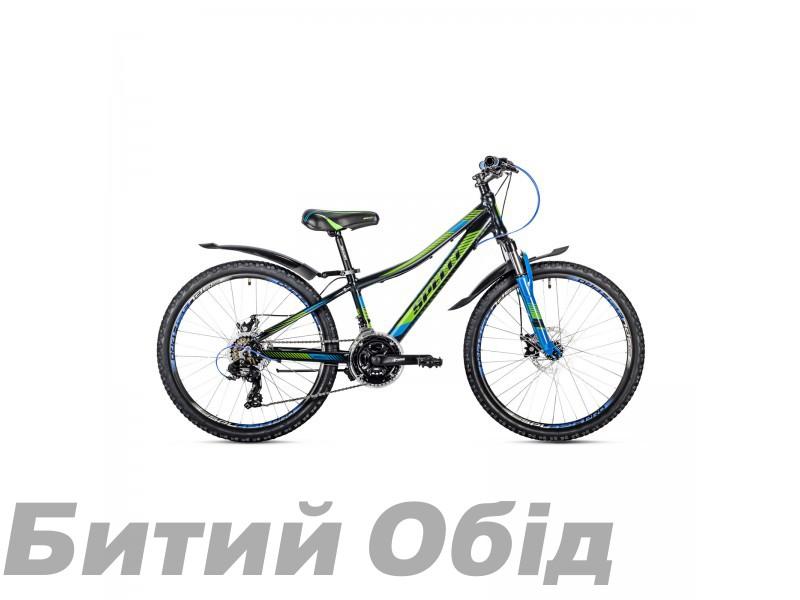 Детский велосипед Spelli CROSS 24 (2018 год) фото, купить, киев, запорожье