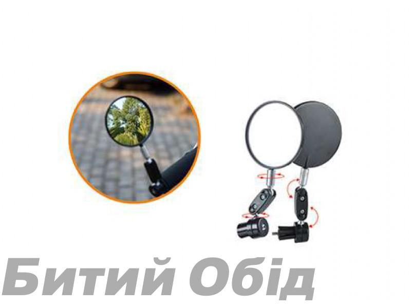 Зеркало на руль велосипеда JINGYI JY-6 фото, купить, киев, запорожье