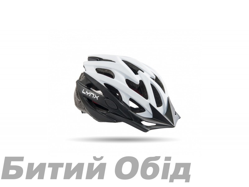 Шлем Lynx Les Gets White Black