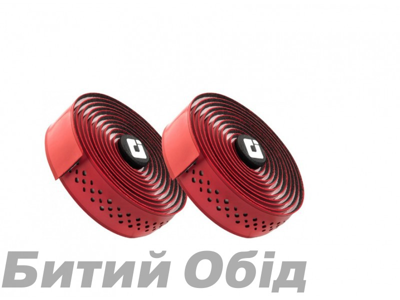 Обмотка руля ODI 3.5mm Dual-Ply Performance Bar Tape - Red/White (красно-белая)