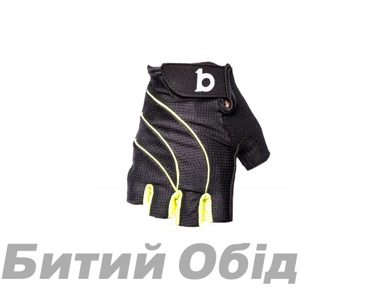 Велосипедные перчатки B10 NC-3117-2018 black/neon фото, купить, киев, запорожье