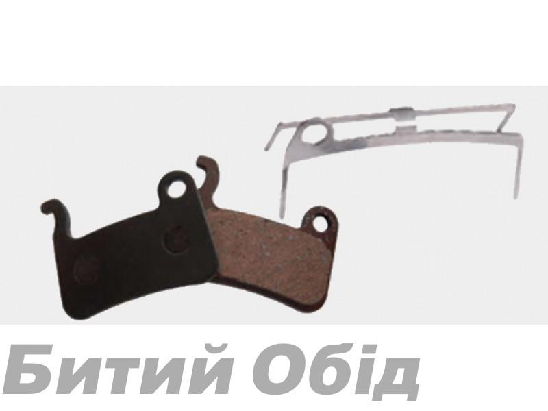 Тормозные колодки дисковые B10 Shimano XTR (BPN-630) organic фото, купить, киев, запорожье