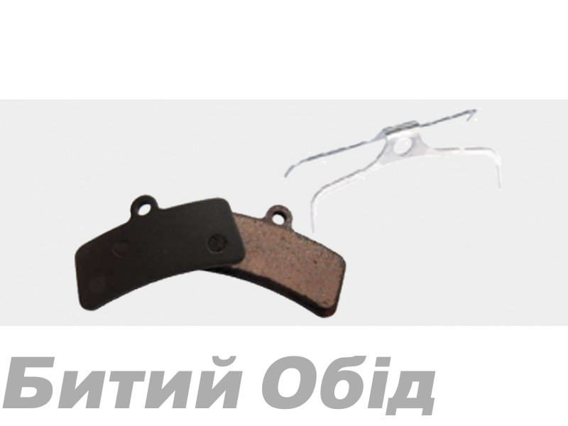 Тормозные колодки дисковые b10 Shimano Saint/M810/820/ZEE/M640/TRP (BPN-640) organic