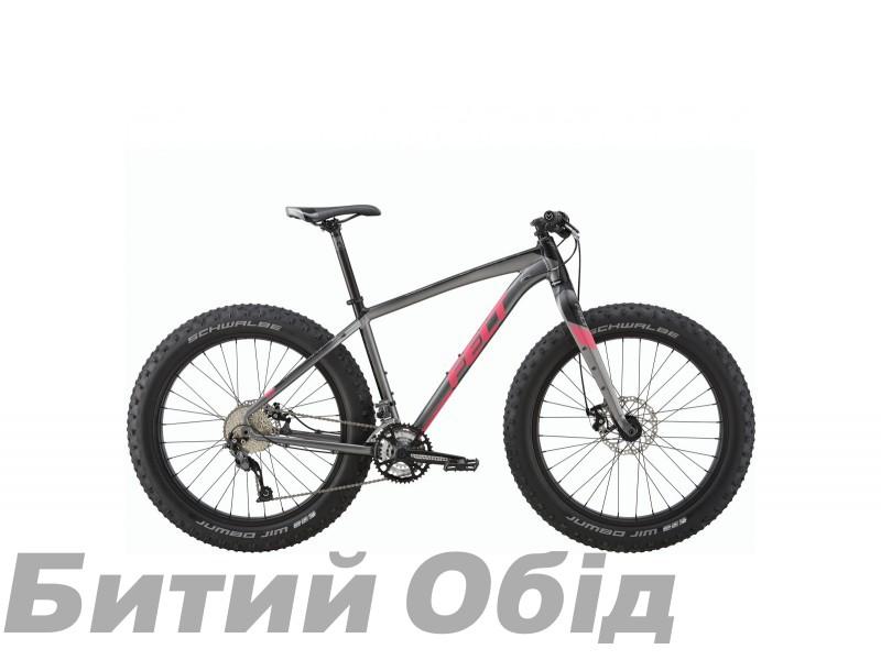 Велосипед Felt FatBike Double-Double 70 (matte charcoal) фото, купить, киев, запорожье