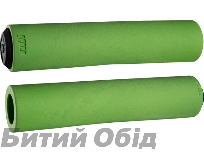 Грипсы ODI F-1 FLOAT Grips, 130mm, Green (зеленые)