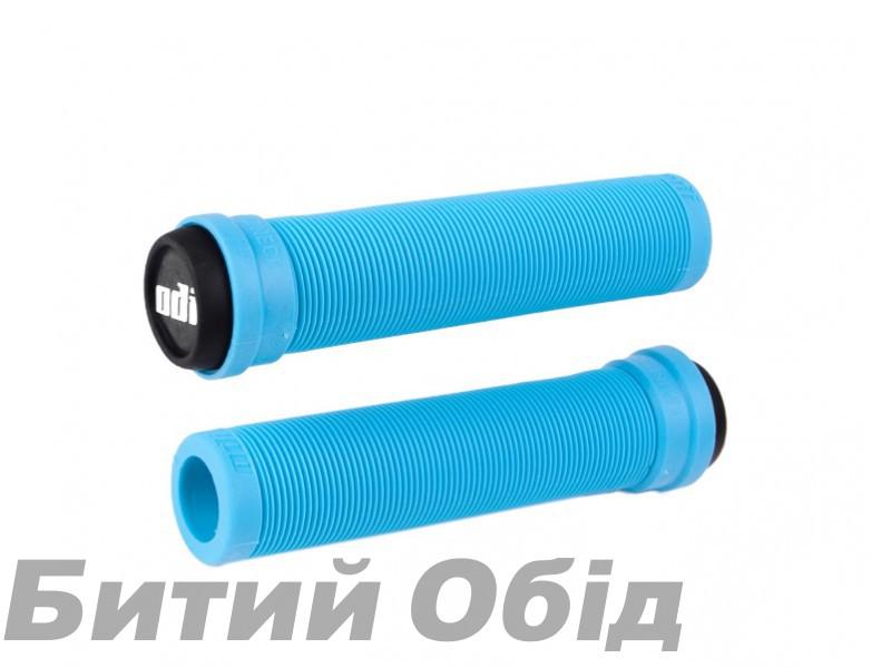Грипсы ODI Soft Longneck BMX 135mm Single Ply Aqua (голубые) фото, купить, киев, запорожье
