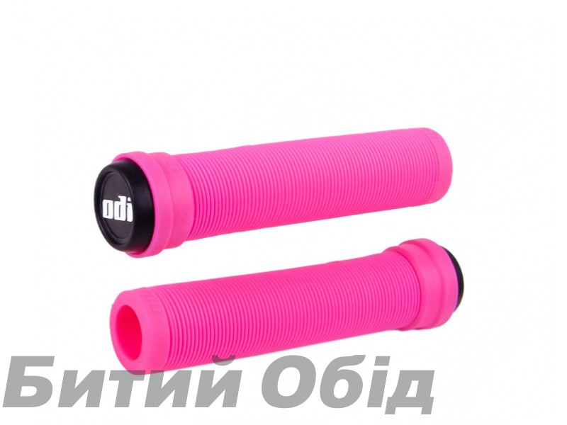 Грипсы ODI Soft Longneck BMX 135mm Single Ply Pink (розовые)