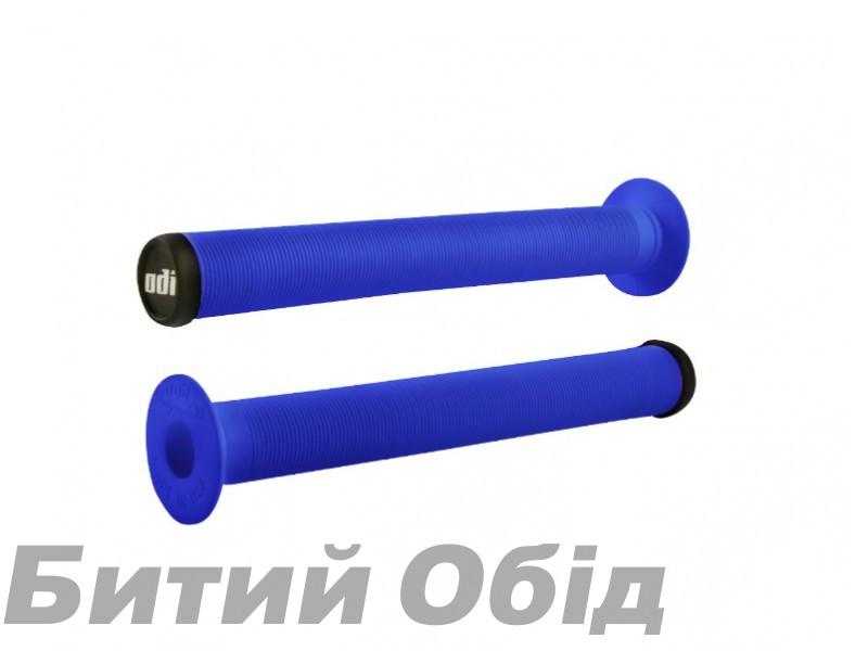 Грипсы ODI Longneck XL Single Ply Grips Bright Blue (синие) фото, купить, киев, запорожье