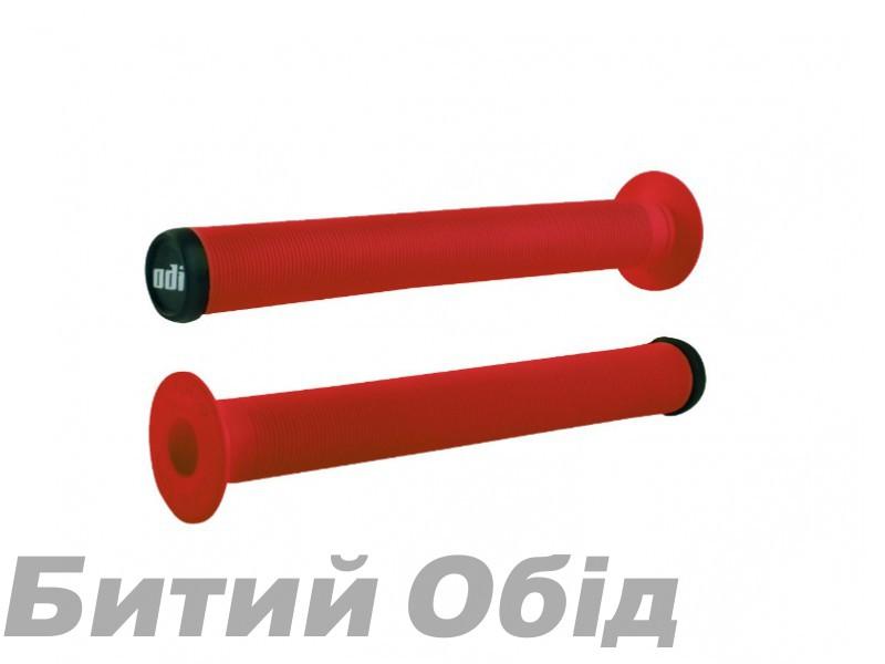 Грипсы ODI Longneck XL Single Ply Grips Bright Red (красные) фото, купить, киев, запорожье