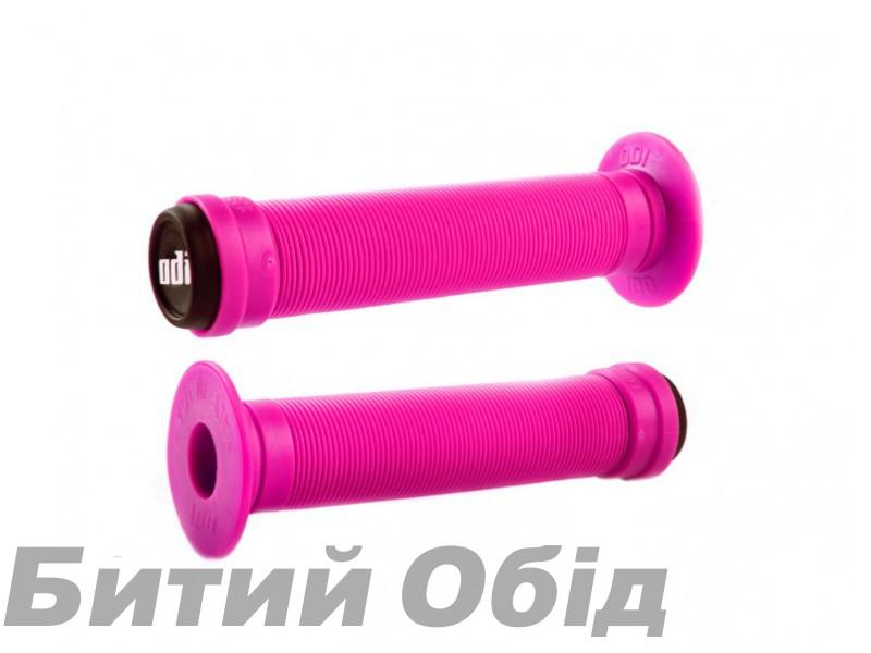 Грипсы ODI Longneck ST BMX 143mm Single Ply Pink (розовые) фото, купить, киев, запорожье