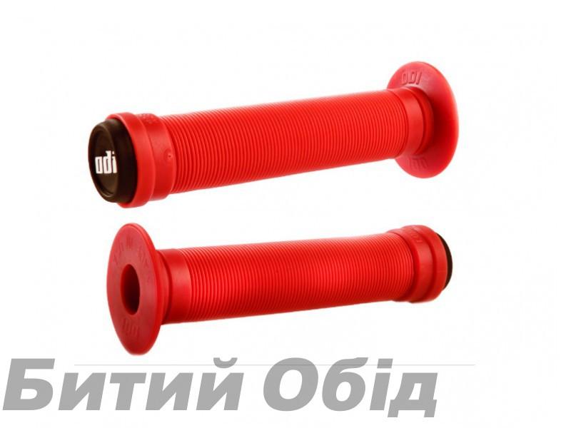 Грипсы ODI Longneck ST BMX 143mm Single Ply Bright Red (красные) фото, купить, киев, запорожье
