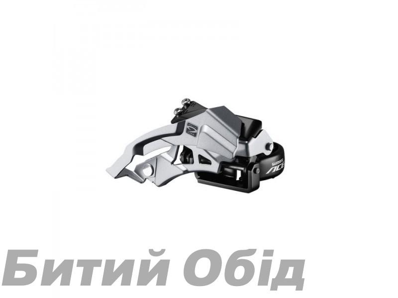 Переключатель передний Shimano FD-M3000 ACERA, TOP-SWING, 34,9/31,8/28,6мм адапт, универс.тяга