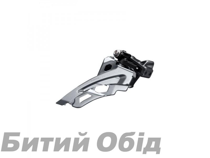 Переключатель передний Shimano FD-M6000-L, DEORE 3X10, LOW CLAMP, SIDE SWING, FRONT-PULL хомут