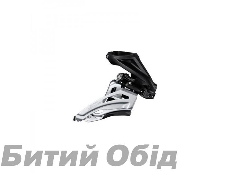 Переключатель передний Shimano FD-M6020-H, DEORE 2X10, HIGH CLAMP, SIDE SWING, FRONT-PULL, хамут фото, купить, киев, запорожье