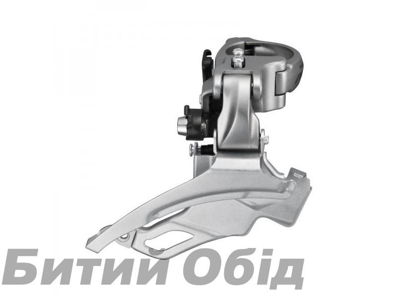 Переключатель передний Shimano FD-T4000-H, ALIVIO 3X9, для 44/48, DOWN-SWING, DUAL-PULL хомут