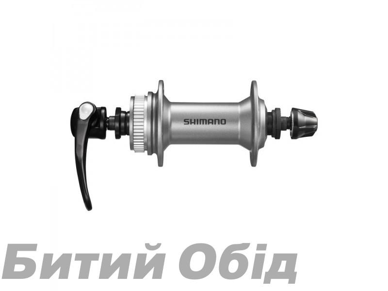 Втулка передняя Shimano HB-M4050, для диск торм, 32сп., черн, CENTER LOCK
