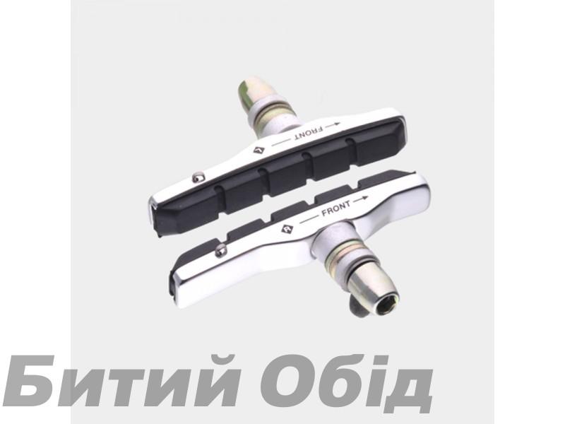 Тормозные колодки V-brake Sheng-An BSV-2B-320BK (серебристые) фото, купить, киев, запорожье