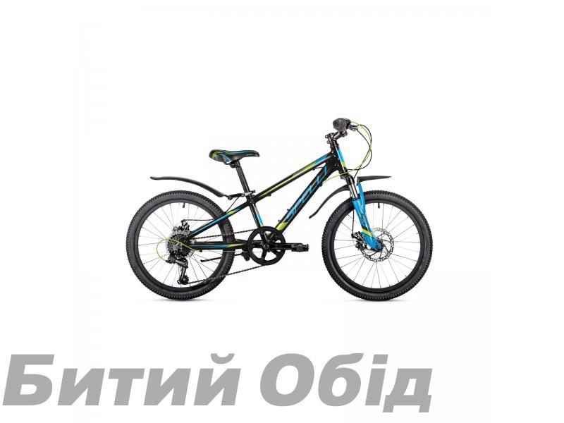Детский велосипед Spelli CROSS Boy 20 (2019 год) фото, купить, киев, запорожье