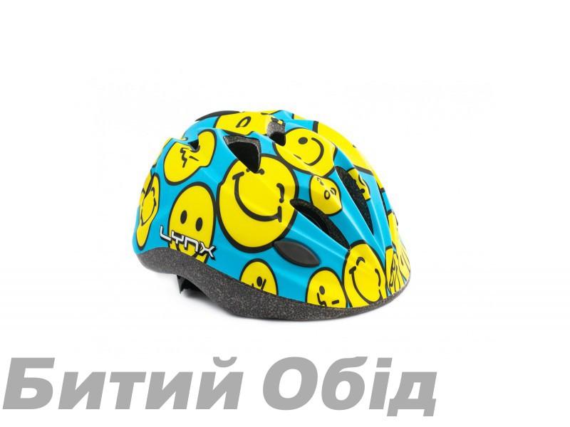Шлем Lynx Kids Blue smiles