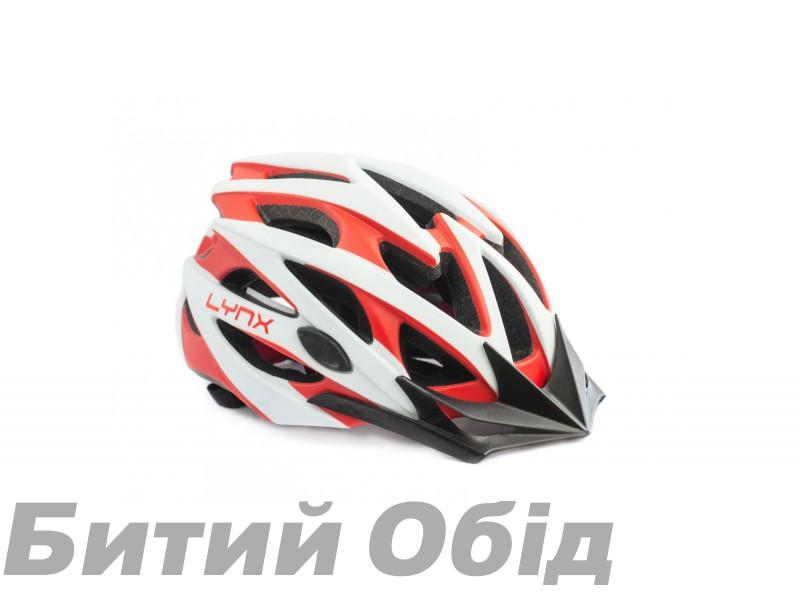 Шлем Lynx Vale Di Sole, Matt White/Red