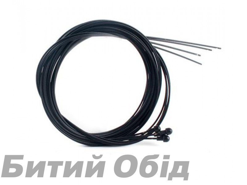Нержавеющий тефлоновый тормозной тросик 1700mm Sheng-An P.V.D.F (Road)
