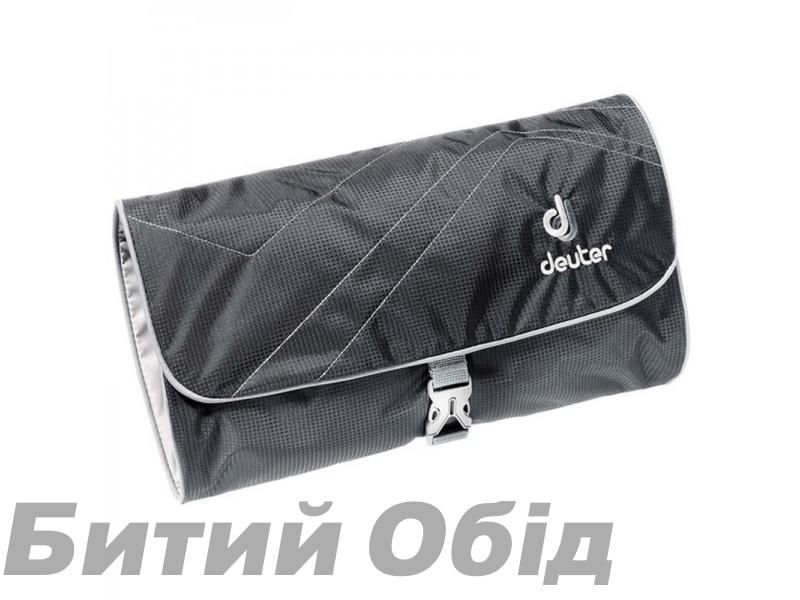 Несессер Deuter Wash Bag II, black-titan