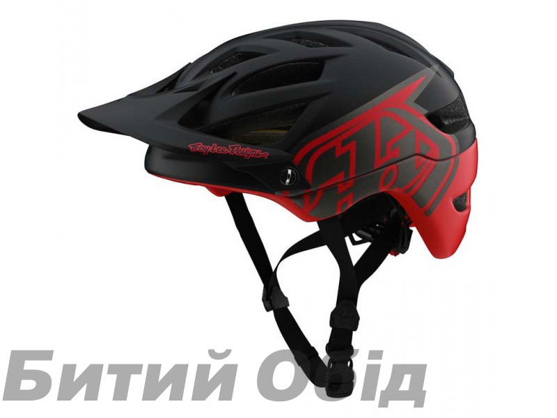 Вело шлем TLD A1 MIPS Classic [BLACK/RED]