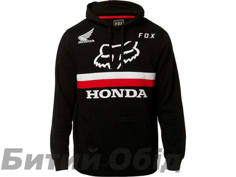 Толстовка FOX HONDA PULLOVER FLEECE