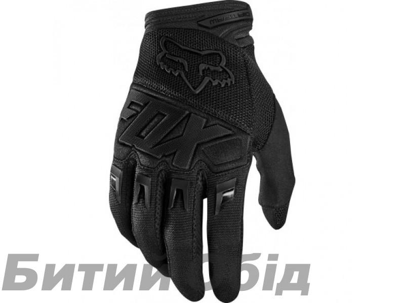 Вело перчатки FOX DIRTPAW RACE Glove Black/Black