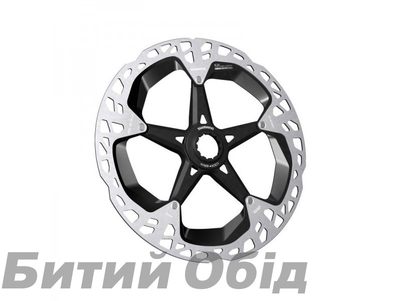 Ротор Shimano XTR RT-MT900-L, 203мм, ICE TECH FREEZA CENTER LOCK