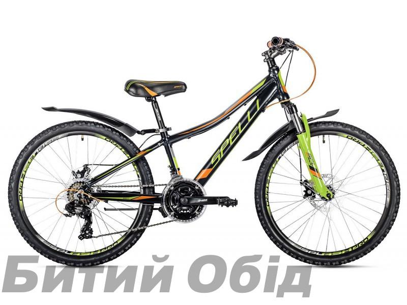Детский велосипед Spelli CROSS Boy 24 (2019 год)