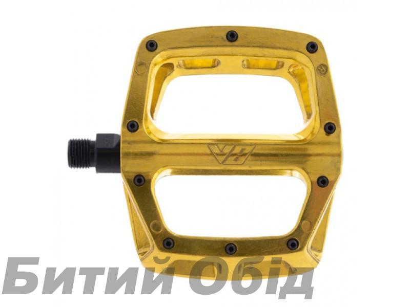 Педали DMR V8 V2 Fools Gold (старинное золото)